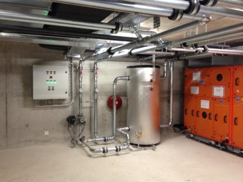 Études chauffage,  ventilation et climatisation